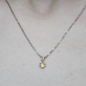 Jewelry - GOLD CRYSTAL Necklace and Earrings